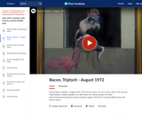 Bacon's Triptych - August 1972