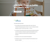 LIVE Code - Focus on Coding and Literacy (K-3)