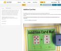 Addition Card Mat