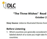 """The Three Wishes"" Read Aloud: Listening Guide"