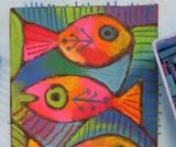 The Genie in the Bottle: Fish Art Activities