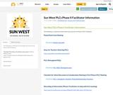 Sun West PLCs Phase II Facilitator Information