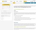 Critical Thinking Guidebook - 10-12 (High School) Sun West