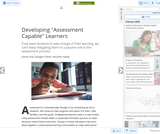 February 2018 Developing 'Assessment Capable' Learners
