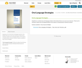 Oral Language Strategies