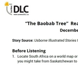 """The Baobab Tree"" Read Aloud: Listening Guide"