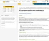 Communication Guidebook -  K-5 (Elementary) Sun West