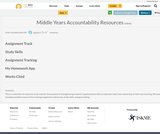Middle Years Accountability Resources