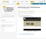DLC ELA Grade 3: Unit 1- The Writing Process