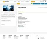 PAA: Machining