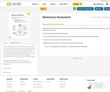 Elementary Assessment