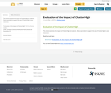 Evaluation of the Impact of ChatterHigh