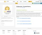 Collaboration - Example Rubrics