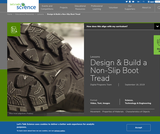 Design & Build a Non-Slip Boot Tread