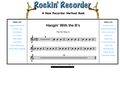 Rockin' Recorder Method Book