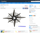 8 Point Compass Rose