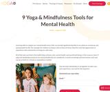 9 Yoga & Mindfulness Tools for Mental Health