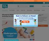 Best Kindergarten Websites & Activities for Learning at Home