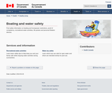 Boating and water safety
