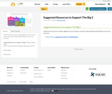 Suggested Resources to Support The Big 5