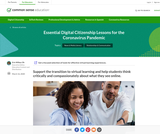 Essential Digital Citizenship Lessons for the Coronavirus Pandemic