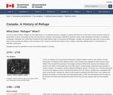 Canada: A History of Refuge